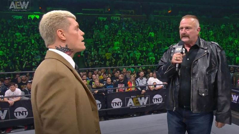 Jericho gave a very fitting reply to Orton (Pic Source: AEW)