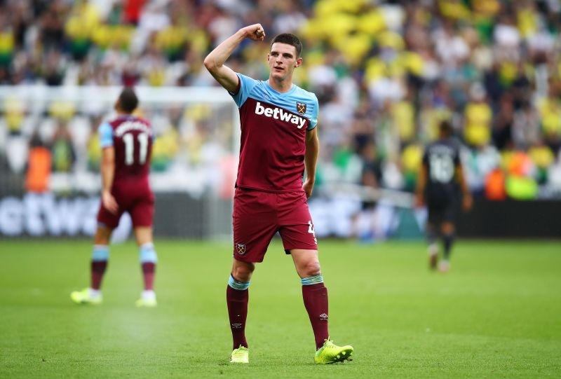 Declan Rice is attracting interest from Manchester United and Chelsea