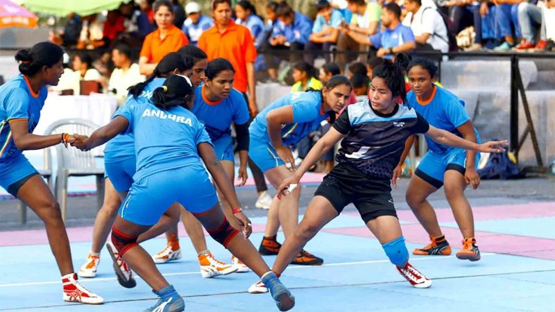 Assam in action against Andhra Pradesh