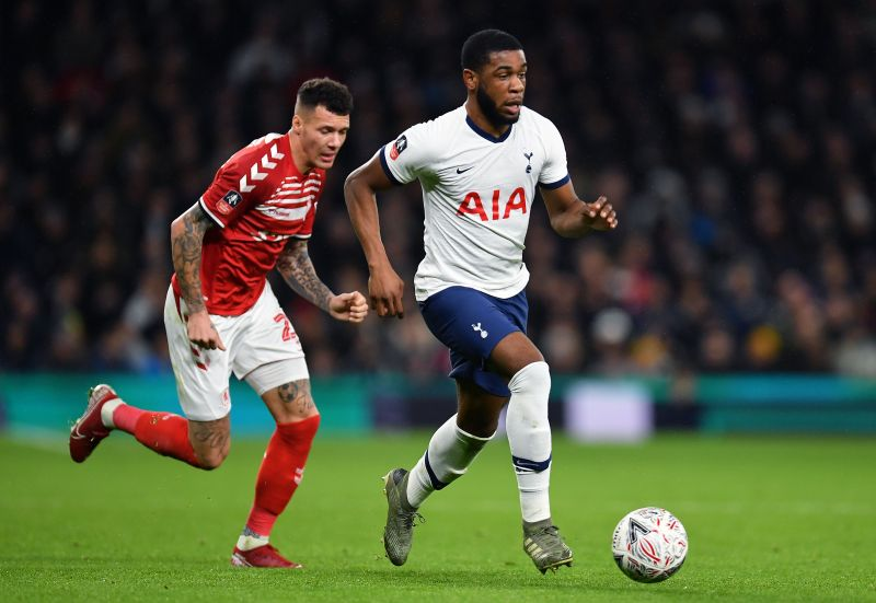 Defender Japhet Tanganga has become a regular at Spurs under Jose Mourinho
