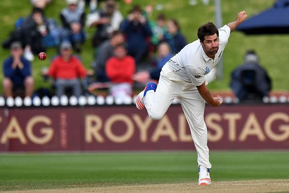 De Grandhomme started off with Zimbabwe