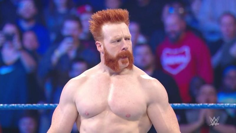 Sheamus no longer has the Mohawk