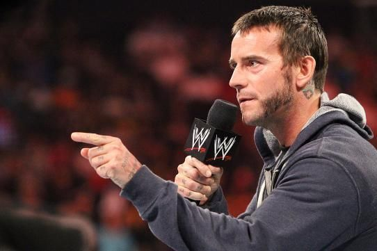 CM Punk made his WWE Backstage debut last year in November, and occasionally appears on the show.
