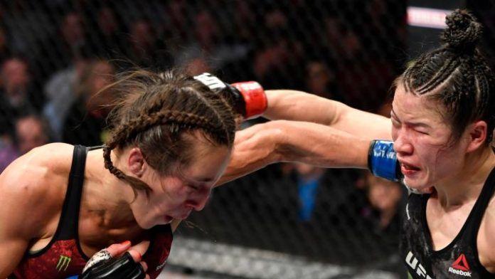 Joanna Jedrzejczyk vs. Zhang Weili