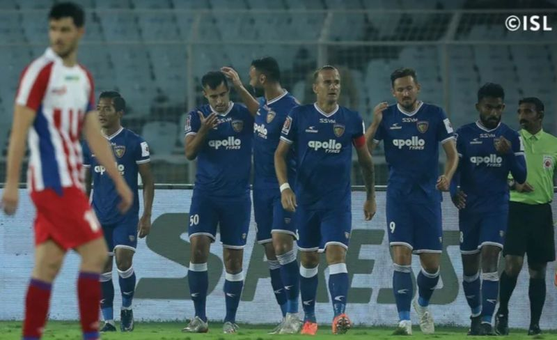 Chennaiyin FC emerged victorious in the pair