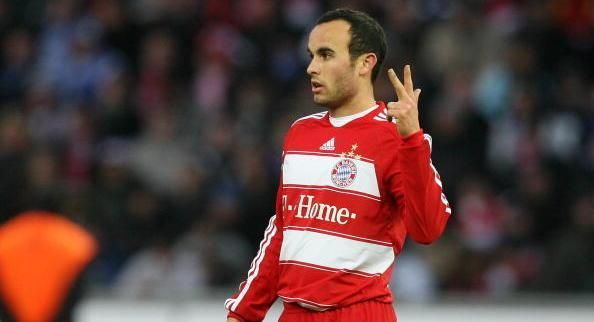 Landon Donovan had a four-and-a-half-month spell with the Bavarians