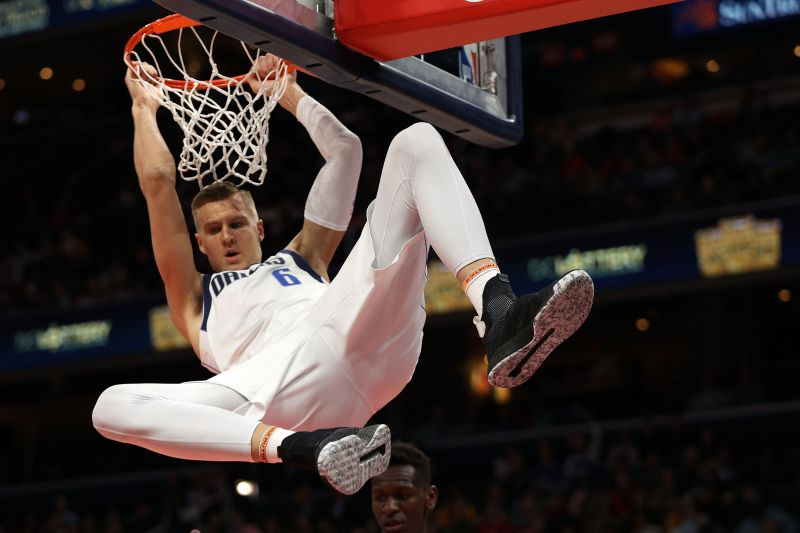 Kristaps Porzingis has played brilliantly for Dallas since the All-Star break