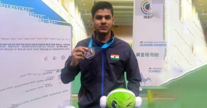 Divyansh Singh Panwar - The young, promising rifle shooter