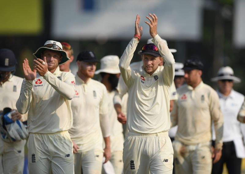 England were set to play two Test matches against Sri Lanka