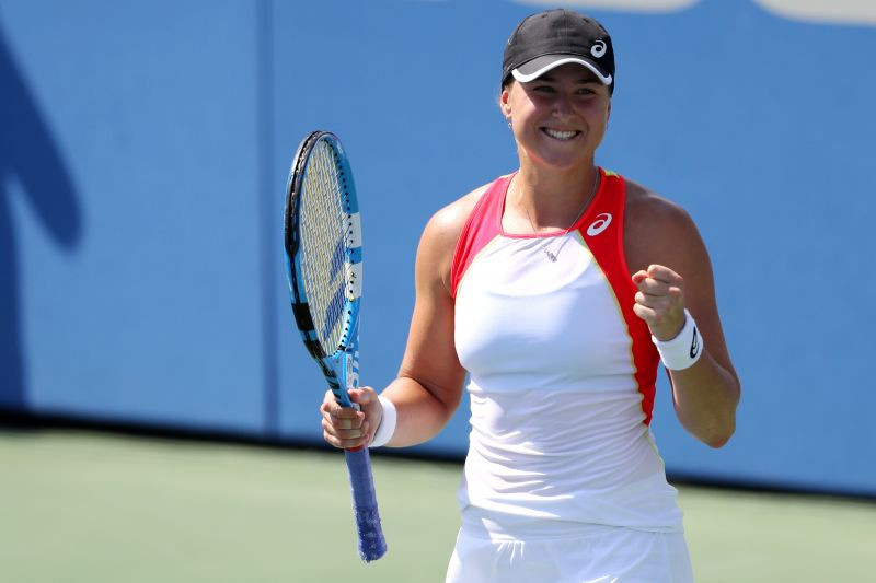 Rebecca Peterson lost in the first round of Australian Open 2020