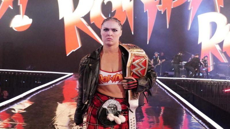 Ronda Rousey isn