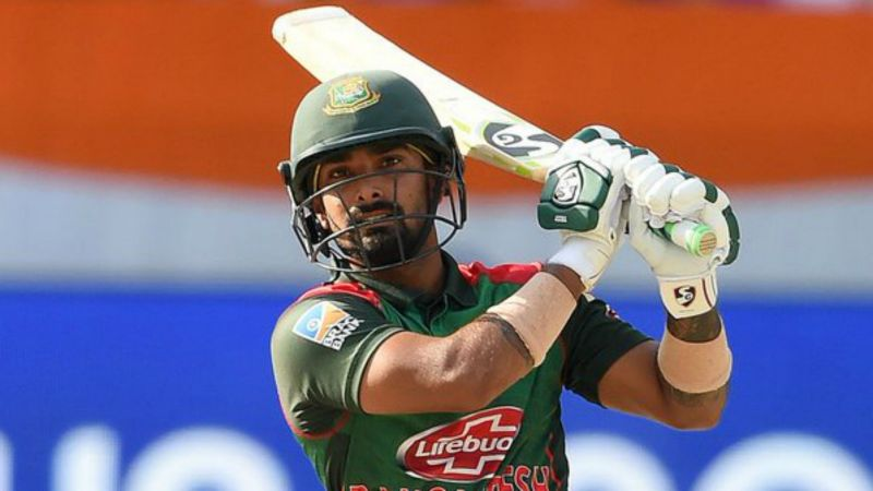 Liton Das reached his second ODI century against Zimbabwe