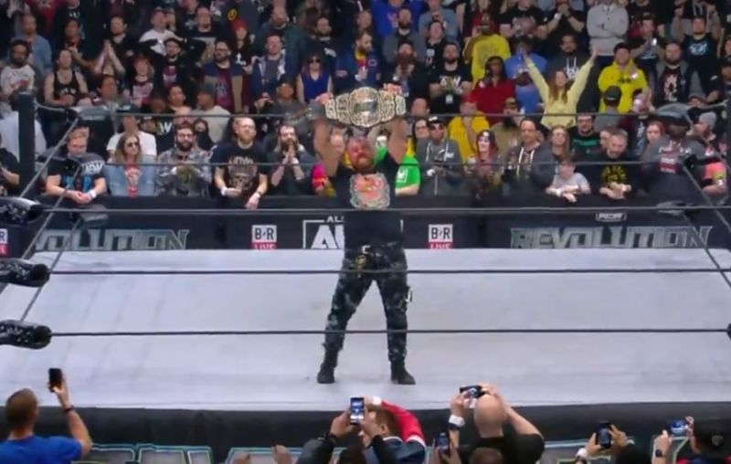 Jon Moxley is the new AEW World Champion