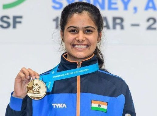 Manu Bhaker, the Indian shooting prodigy