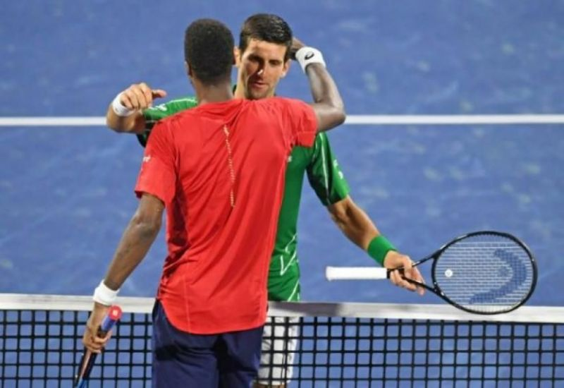 Djokovic beats Monfils for the 17th time in as many tour meetings between the pair.