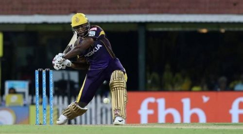 Andre Russell is the star of the Kolkata Knight Riders