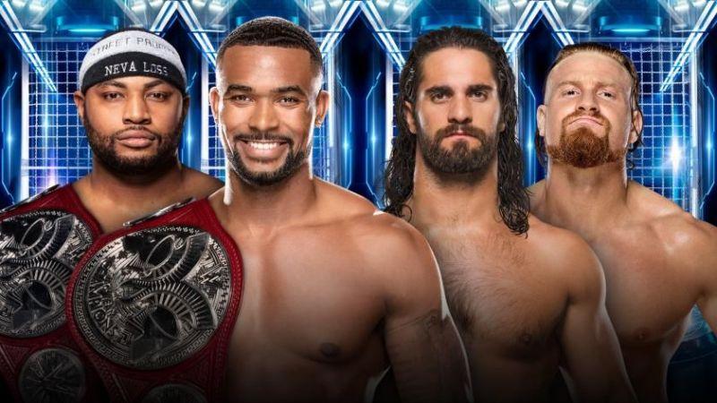 T he RAW Tag Team Championship match