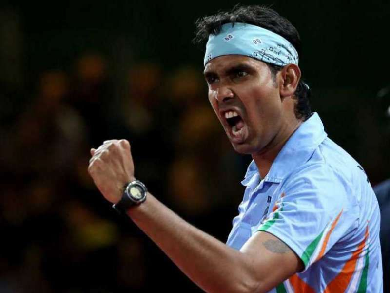 Sharath Kamal is hoping to qualify for the Tokyo Olympics