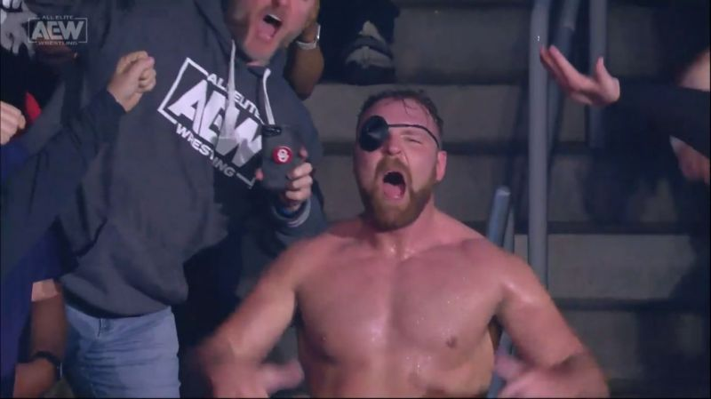Moxley is on top of the world as AEW Champion