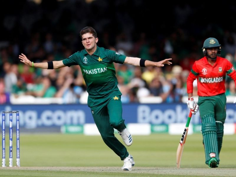 Shaheen Afridi took six wickets against Bangladesh in the 2019 World Cup