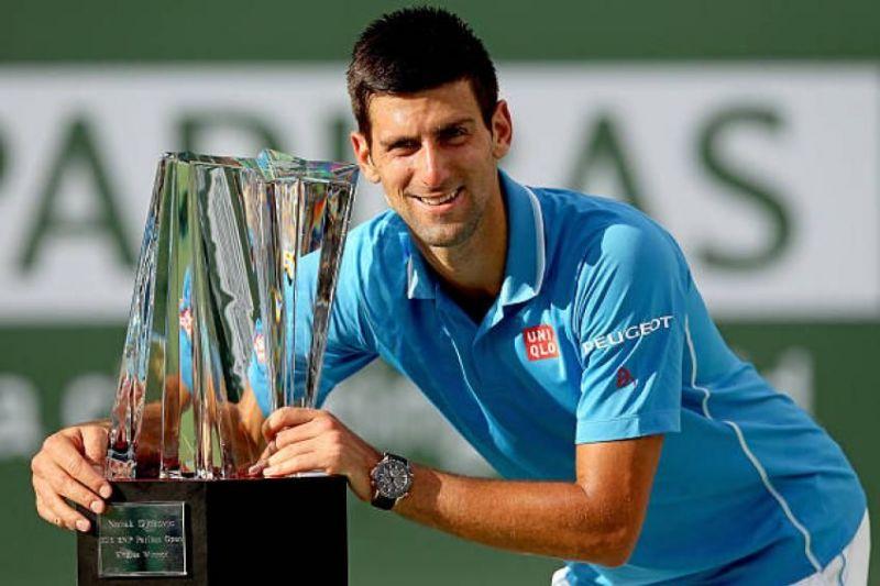 Novak Djokovic lifts his 5th Indian Wells title in 2016