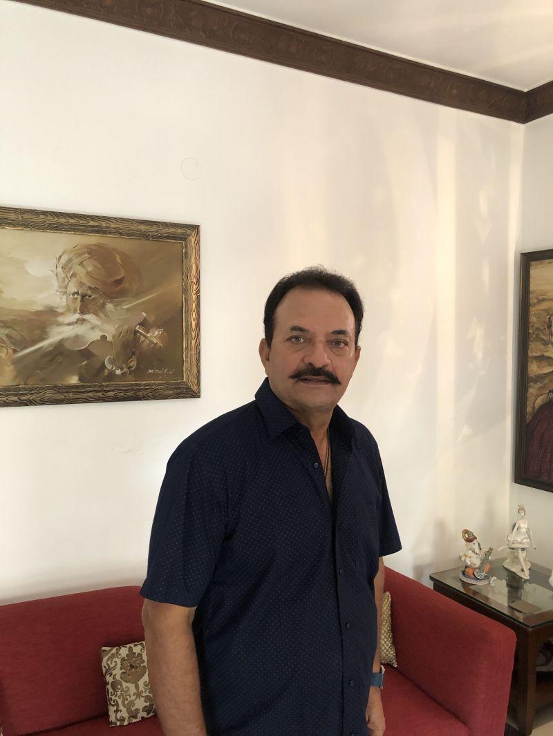 Madan Lal at his residence