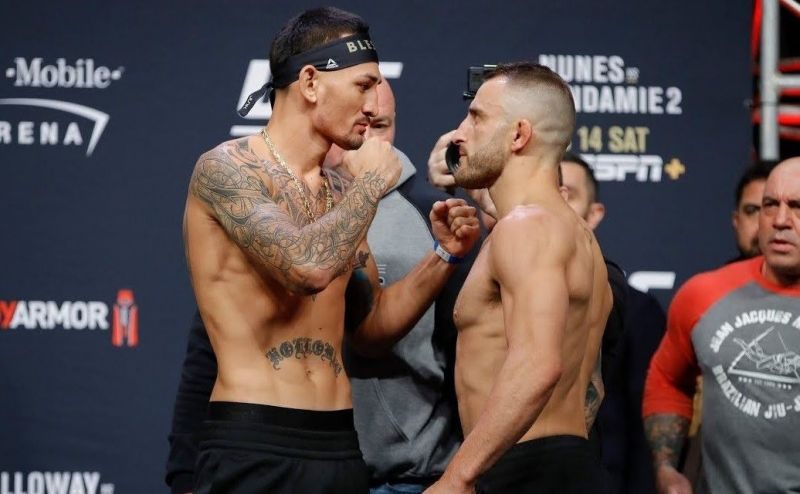 Australian Alexander Volkanovski handed Holloway his first loss in the featherweight division of UFC in over five years
