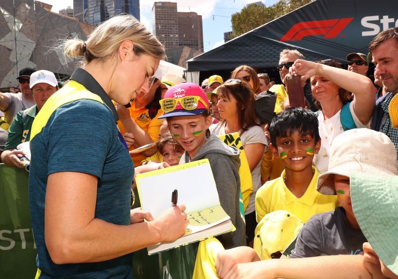 Women cricketers have started to enjoy a decent fan following