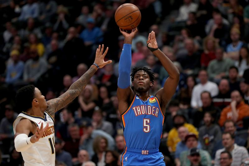 Oklahoma City Thunder are currently sixth in the Western Conference