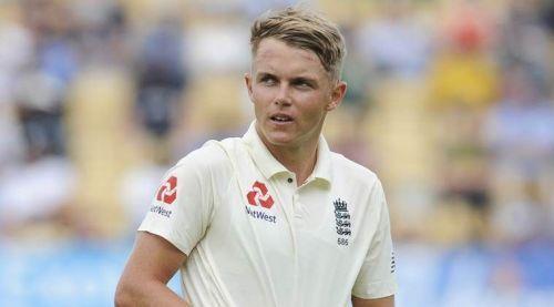 Sam Curran made his Test debut against Pakistan