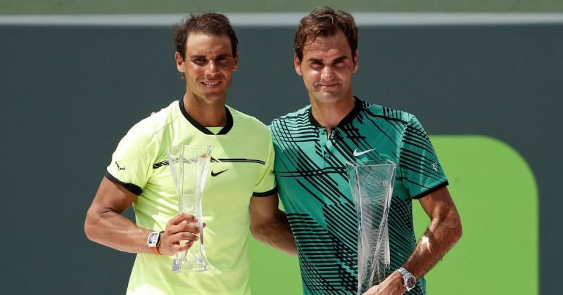 Nadal lost to Federer in the 2017 Miami final