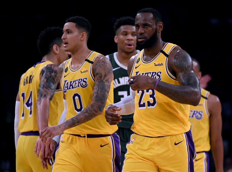 The Los Angeles Lakers are in excellent form