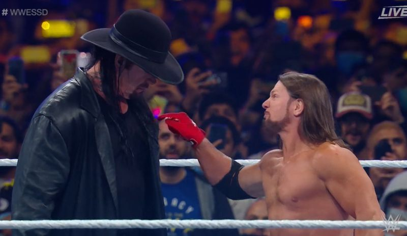 Styles made a mistake mocking The Undertaker