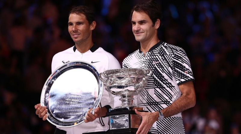Federer won his first Grand Slam title in nearly five years at Melbourne in 2017