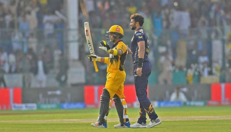 Kamran Akmal scored a whirlwind century during their first encounter