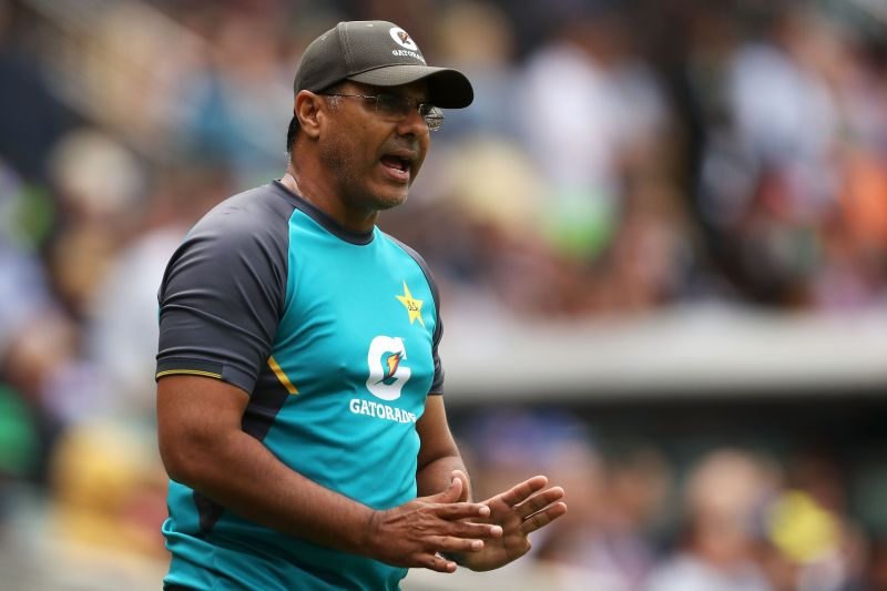 Waqar Younis is the bowling coach of the Pakistan cricket team