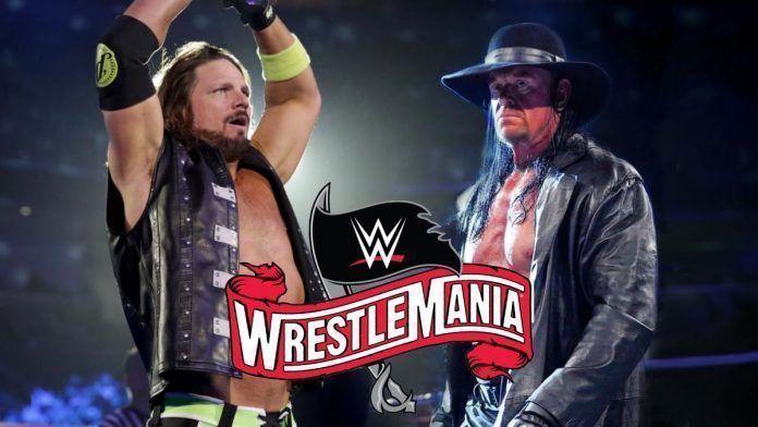 Why did WWE make Undertaker versus AJ Styles a Boneyard match?