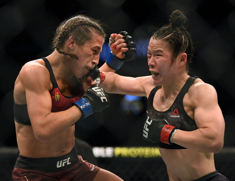 The co-main event at UFC 248 was a treat to savor