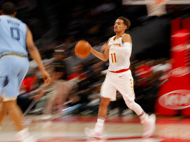 Trae Young is leading the way for the Atlanta Hawks