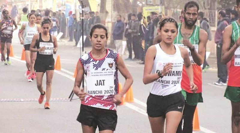 Bhawna Jat (L) [PC: Indian Express]