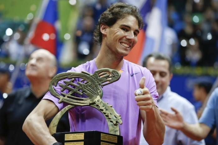 Nadal lifts his first Sau Paulo title on his tournament debut in 2013