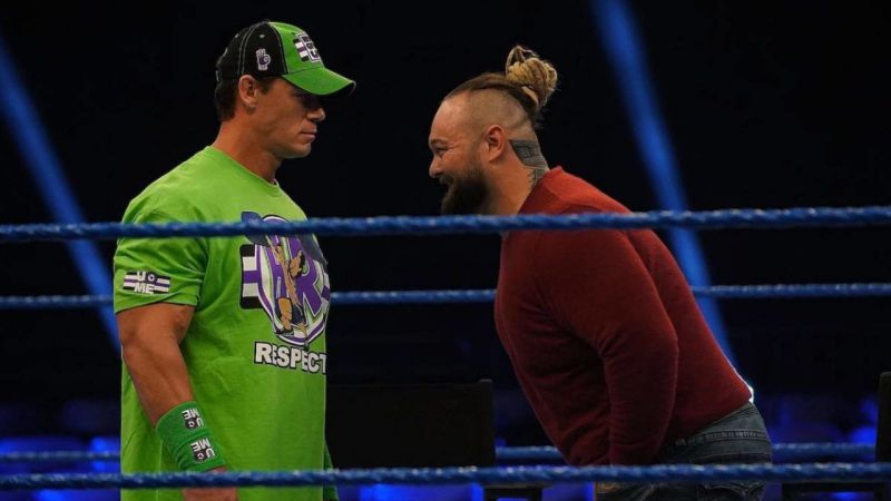 John Cena has promised to defeat The Fiend at WrestleMania 36