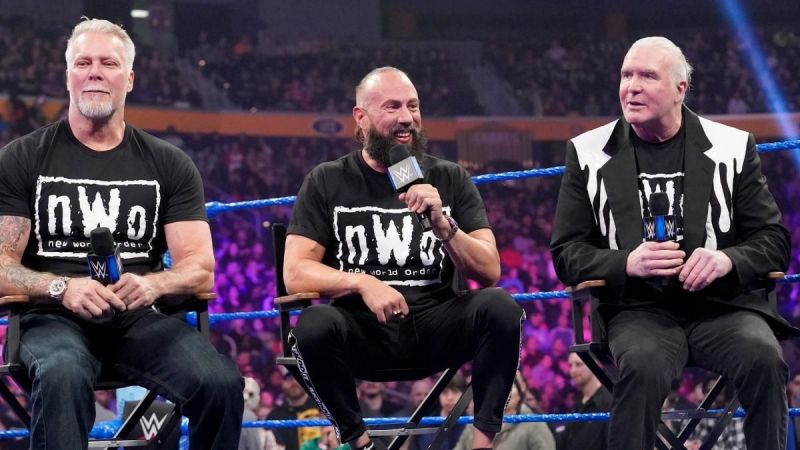 The nWo talked about Goldberg and their upcoming Hall of Fame induction!
