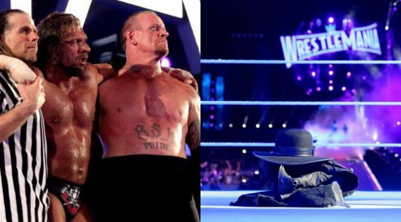The Undertaker is an integral part of WrestleMania