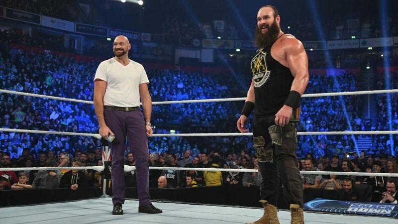 Tyson Fury and Braun Strowman