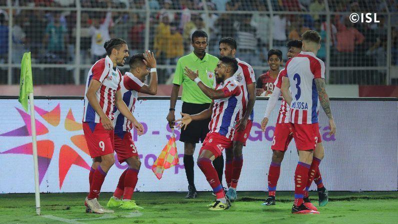 ATK got the better of Bengaluru FC (Image: ISL)