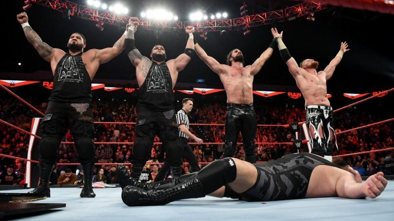 AOP, Seth Rollins, and Murphy