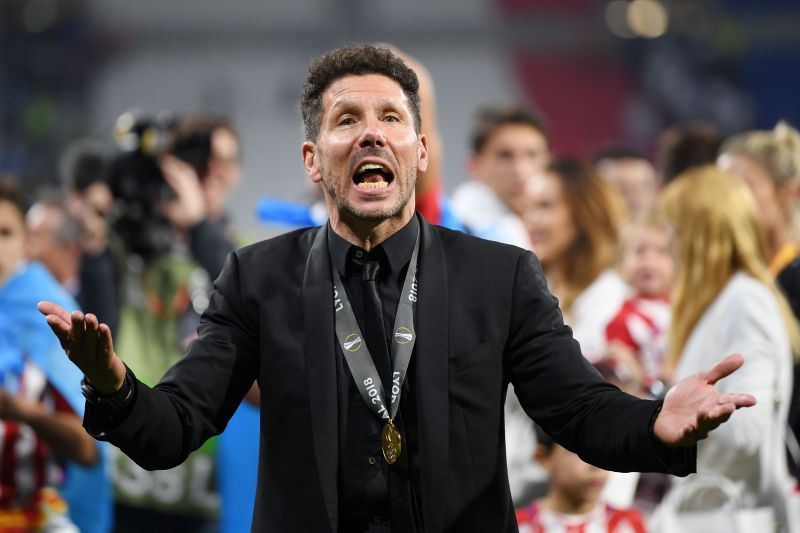 Despite two UEFA Europa League triumphs with Atleti, it is the Champions League trophy that continues to escape Simeone