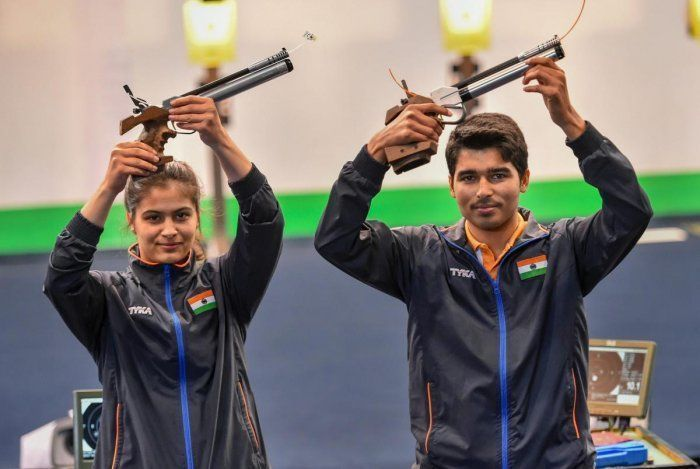 Manu Bhaker and Saurabh Chaudhary will be the biggest medal hopes for India at the Tokyo Olympics