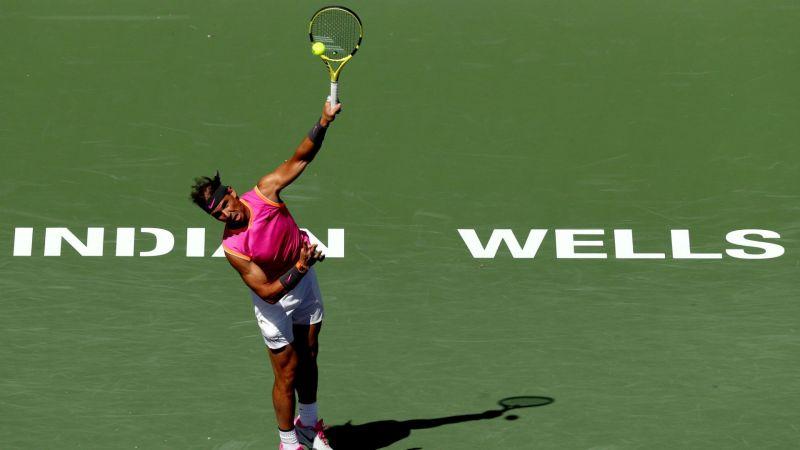 Rafael Nadal at Indian Wells